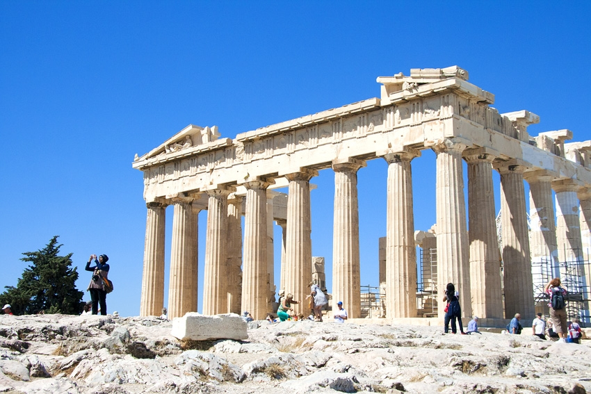 Parthenon. Athens Greece